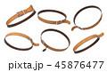 レザー 皮革 革のイラスト 45876477