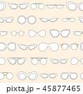 Linear eyewear seamless pattern, sunglasses 45877465