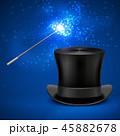 魔術 魔法 マジックのイラスト 45882678