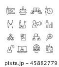 人々 人物 関係のイラスト 45882779