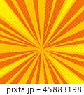 ポップ アート サンバーストのイラスト 45883198