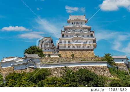 姫路城 45884389