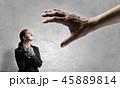 ビジネス 手 女の写真 45889814