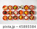 一般的なおせち料理 General Japanese New Year dishes(osechi) 45893384