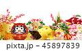 亥 門松 亥年のイラスト 45897839