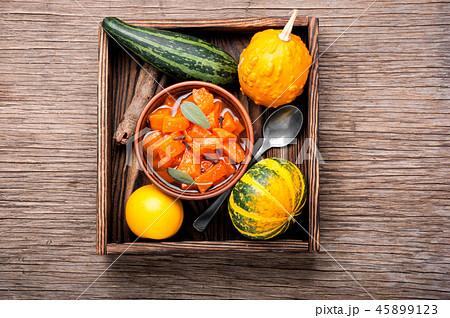 Pumpkin confiture, jam, sauce 45899123