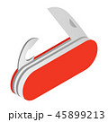 Camping knife isometric 3d icon 45899213