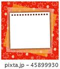 秋のフレーム メモ帳 紅葉 どんぐり 秋色 45899930