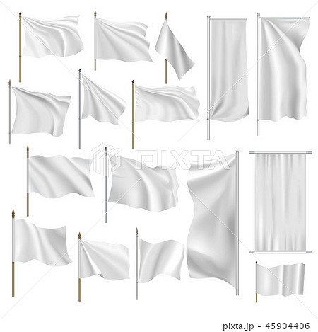 Flags and banners set  45904406