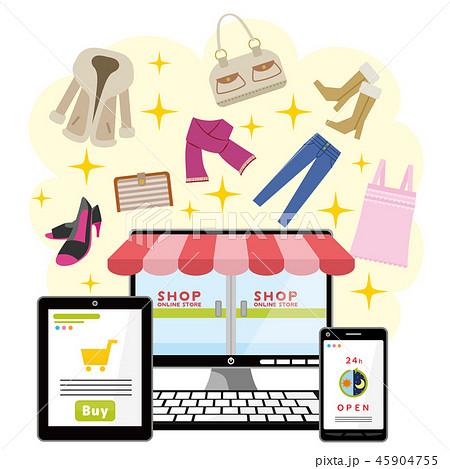 ネットショッピング ファッション 45904755