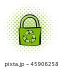 グリーン 緑色 エコのイラスト 45906258