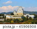姫路城 白鷺城 世界遺産の写真 45906908