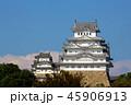 姫路城 白鷺城 城の写真 45906913