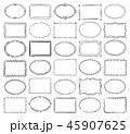 広場 正方形 スクエアのイラスト 45907625