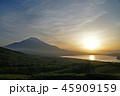 パノラマ台からの富士山 45909159