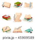 紙 ペーパー 紙類のイラスト 45909589