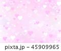 ハート ピンク バレンタイン 背景 (ヨコ) 45909965