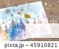 クリスマスカード 45910821