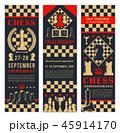 チェス ゲーム 試合のイラスト 45914170