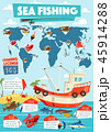 Fishing sport and fishery infographic 45914288