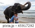 ゾウ 象 女の写真 45917292
