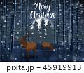 クリスマス しか シカのイラスト 45919913