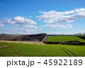 風景 丘 青空の写真 45922189