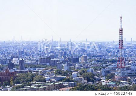 名古屋市昭和区都市風景 名古屋FM送信所鉄塔 45922448