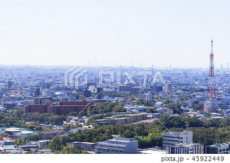 名古屋市昭和区都市風景 名古屋FM送信所鉄塔 45922449