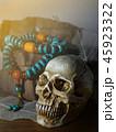 ヒューマン ドクロ ハロウィンの写真 45923322