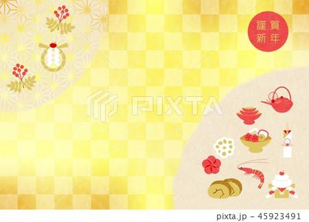 年賀おせち料理 45923491