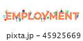 ベクトル 雇用 人物のイラスト 45925669