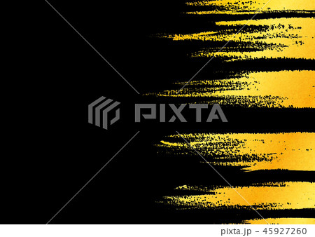 背景素材 水彩テクスチャー 金色 45927260