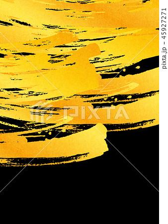 背景素材 水彩テクスチャー 金色 45927271