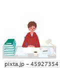 勉強 ベクター 10代のイラスト 45927354