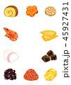 おせち料理 おせち 正月のイラスト 45927431