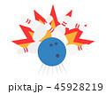 ボウリング ピン スポーツのイラスト 45928219