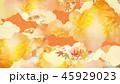 和-背景-和紙-秋-紅葉-金 45929023