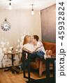 カップル 二人 二人連れの写真 45932824