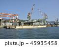 海 海岸 重機の写真 45935458