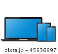 パソコン スマホ タブレットのイラスト 45936997