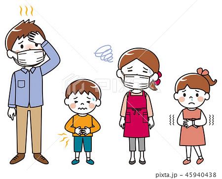 家族 風邪 体調不良 45940438