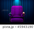 シネマ 映画館 シートのイラスト 45943190