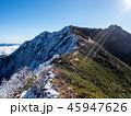 初冬 山 山頂の写真 45947626