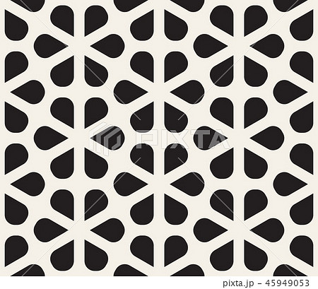 Vector seamless pattern. Modern stylish abstract texture. Repeating geometric tiles  45949053