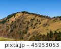 大菩薩嶺の稜線と青空 45953053