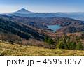 大菩薩嶺の稜線からの富士山 45953057