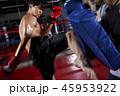 キックボクシング ミドルキック キックの写真 45953922