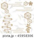 パターン 柄 模様のイラスト 45958306