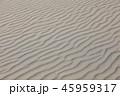 風紋 砂 砂浜の写真 45959317
